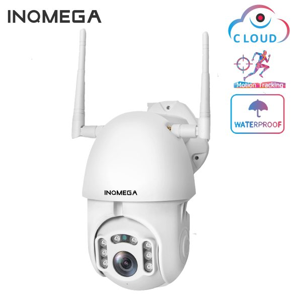 INQMEGA IP Camera WiFi 1080P Wireless Auto tracking PTZ Speed Dome Camera Outdoor CCTV Security Surveillance INQMEGA IP Camera WiFi 1080P Wireless Auto tracking PTZ Speed Dome Camera Outdoor CCTV Security Surveillance Waterproof Camera