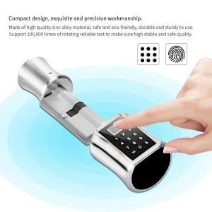 Intelligent Biometric Fingerprint Scanner Door Lock Password Coded Lock for Smart Home fechadura digital cerradura inteligente Innrech Market.com