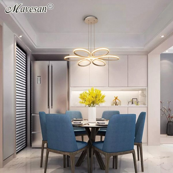 Living room ceiling lamp led dimmable for bedroom aluminum body indoor lighting fixture plafonnier led lights 3 Living room ceiling lamp led dimmable for bedroom aluminum body indoor lighting fixture plafonnier led lights dining room