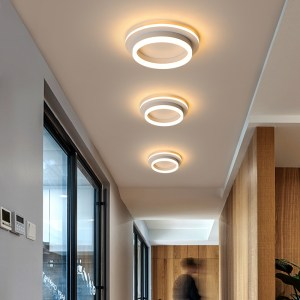 Modern Led Ceiling Lights For Hallway Porch Balcony Bedroom Living Room Surface Mounted Square Round LED Innrech Market.com