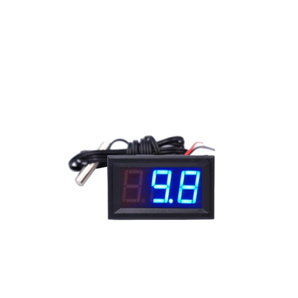 New arrive 50 110 c LED Temperature meter Detector Sensor Probe 12V Digital Thermometer Monitor tester 2 New arrive -50~110°c LED Temperature meter Detector Sensor Probe 12V Digital Thermometer Monitor tester  15%OFF