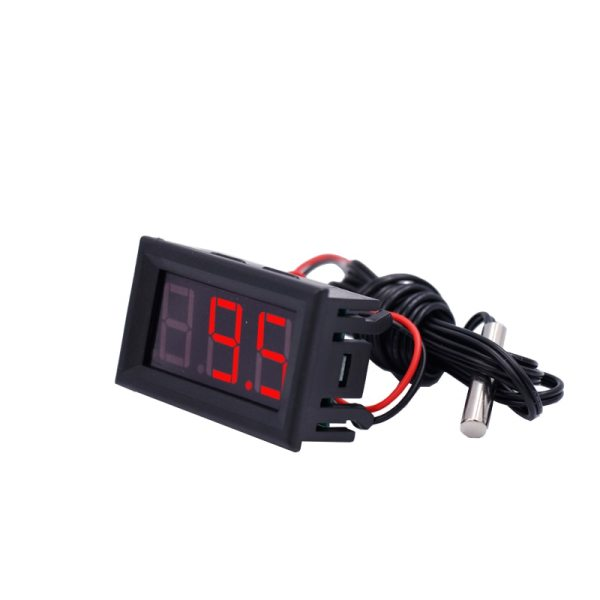New arrive 50 110 c LED Temperature meter Detector Sensor Probe 12V Digital Thermometer Monitor tester 5 New arrive -50~110°c LED Temperature meter Detector Sensor Probe 12V Digital Thermometer Monitor tester  15%OFF
