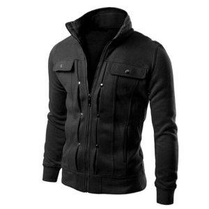 Plus Size Jackets Mens Long Sleeve Warm Fashion Mens Slim Designed Lapel Coat Jacket Stand Collar Innrech Market.com