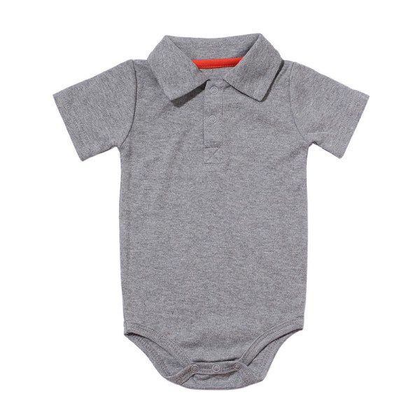 Summer Baby Boy Girl Rompers Turn down Collar Infant Newborn Cotton Clothes Jumpsuit For 0 2Y 2 Summer Baby Boy Girl Rompers Turn-down Collar Infant Newborn Cotton Clothes Jumpsuit For 0-2Y Toddlers Bebe Outfits