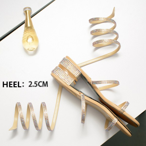 Summer Women Sandals 2019 Fashion Sexy Rhinestone Mid Heel Tied Party Breathable Comfort Shopping Woman Walking 5 Summer Women Sandals 2019 Fashion Sexy Rhinestone Mid Heel Tied Party Breathable Comfort Shopping Woman Walking Casual Shoes