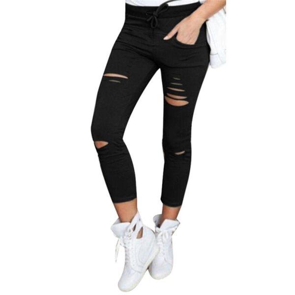 White Jeans Feminino Plus Size Candy Pantalon Femme Black Skinny Jeans Woman Long Pants Large Size White Jeans Feminino Plus Size Candy Pantalon Femme Black Skinny Jeans Woman Long Pants Large Size Jeans For Women