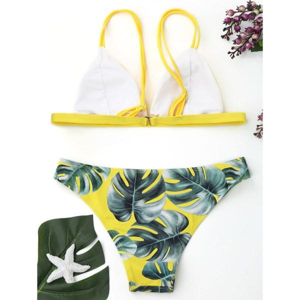 Women s Swimming Suit Sexy Bikini Swimsuit Women Swimwear Bikini Set Print Leaves Push Up Padded 1 Women's Swimming Suit Sexy Bikini Swimsuit Women Swimwear Bikini Set Print Leaves Push-Up Padded Bathing Swimsuit Beachwear
