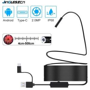 1920 1080 Newest USB Snake Inspection Camera 2 0 MP IP68 Waterproof USB Type C Endoscope Innrech Market.com
