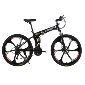 26inch folding mountain bike 6 knife wheel and 3 knife wheel mountain bike 21 speed double Innrech Market.com