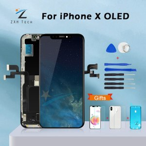 AAA For iPhone X OLED With 3D Touch Digitizer Assembly No Dead Pixel LCD Screen Replacement Innrech Market.com