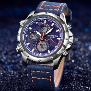 BOAMIGO Fashion Mens Watches men Military Digital analog Quartz Chronograph sport Watch Waterproof wristwatch relogio masculino Innrech Market.com