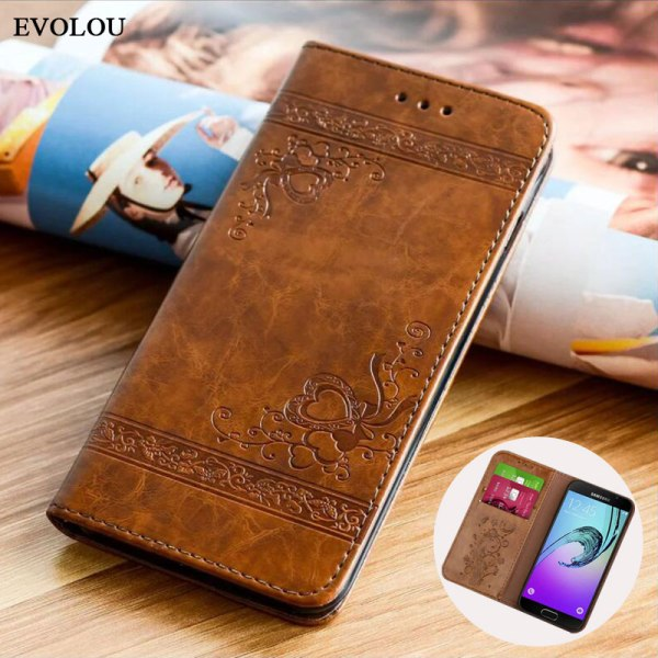 Flip Wallet Leather Case for Samsung Galaxy A7 2017 A5 A3 Cover Embossed Flip Book Cases Flip Wallet Leather Case for Samsung Galaxy A7 2017 A5 A3 Cover Embossed Flip Book Cases for Samsung A5 A3 2016 A310 A510 Bag