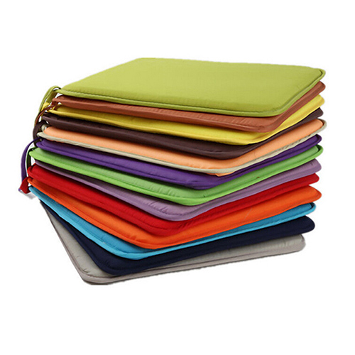 Hot Sale 7 Colors 40x40cm Cotton Blend Cushions Dining Garden Home Kitchen Office Chair Seat Pads Hot Sale 7 Colors 40x40cm Cotton Blend Cushions Dining Garden Home Kitchen Office Chair Seat Pads Cushion