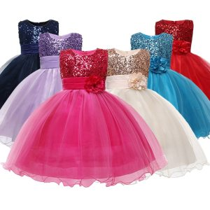 Princess Flower Girl Dress Summer Tutu Wedding Birthday Party Dresses For Girls Children s Costume New Innrech Market.com