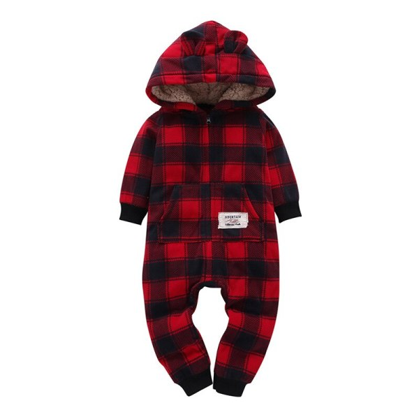 2018 New Bebes Clothes Newborn One Piece Fleece Hooded Jumpsuit Long Sleeved Spring Baby Girls Boys 5 2018 New Bebes Clothes Newborn One Piece Fleece Hooded Jumpsuit Long Sleeved Spring Baby Girls Boys Body Suits Romper
