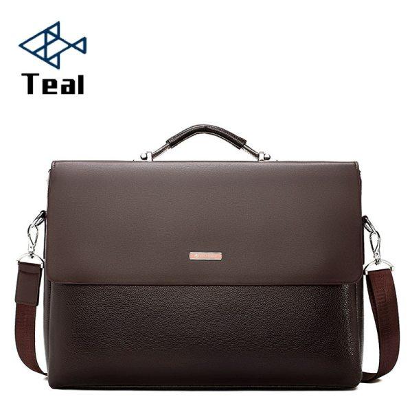 2020 Fashion Business Men Briefcase Leather Laptop Handbag Tote Casual Man Bag For male Shoulder Bag 2020 Fashion Business Men Briefcase Leather Laptop Handbag Tote Casual Man Bag For male Shoulder Bag Male Office Messenger Bag