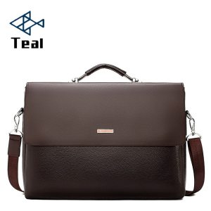 2020 Fashion Business Men Briefcase Leather Laptop Handbag Tote Casual Man Bag For male Shoulder Bag Innrech Market.com