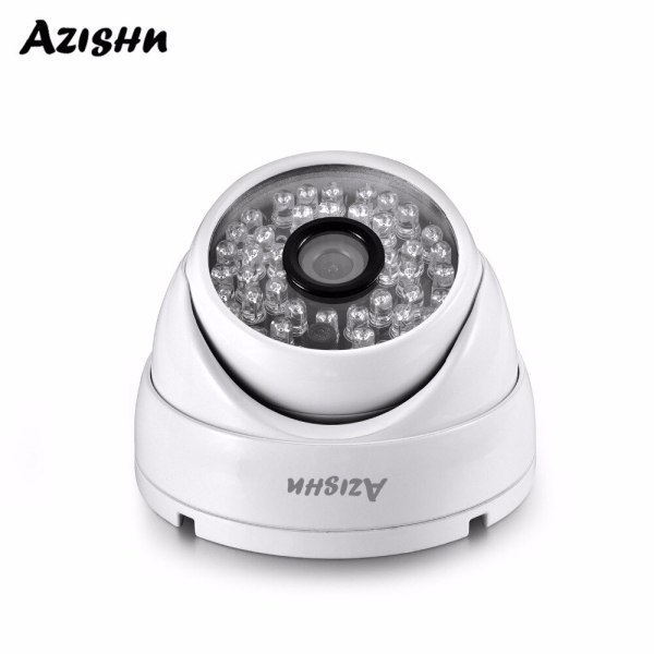 AZISHN Full HD 3MP SONY IMX307 sensor POE Security Dome Camera ONVIF H 265 IR Night AZISHN Full HD 3MP SONY IMX307 sensor POE Security Dome Camera ONVIF H.265 IR Night Vision Outdoor Waterproof Surveillance Cam