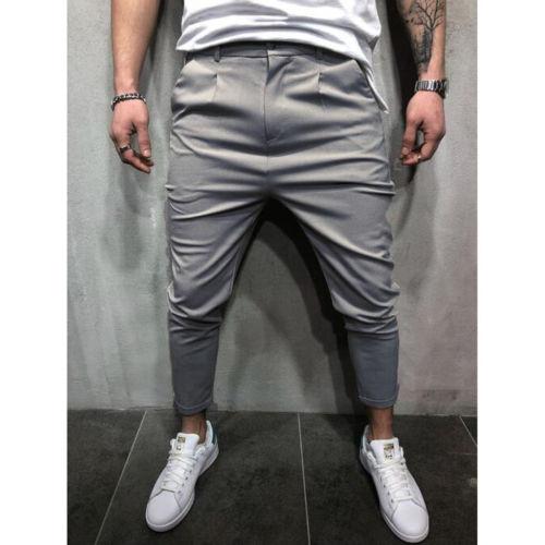 Brand Men Pants Hip Hop Harem Joggers Pants 2018 Male Trousers Mens Joggers Solid Shrink Ankle 3 Brand Men Pants Hip Hop Harem Joggers Pants 2018 Male Trousers Mens Joggers Solid Shrink Ankle Pants Sweatpants M-4XL