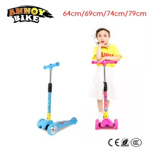 Children Kick Scooter Baby Foldable 3 Wheels LED Outdoor Sport 4 12 Years Old Adjustable Height Innrech Market.com