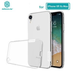 For iPhone XR Case Nillkin Nature Series Transparent Clear Casing Soft TPU Case For iPhone 11 Innrech Market.com