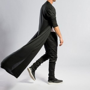 Gothic man long jackets Vintage mens jackets solid long spring autumn slim long trench Coat plus Innrech Market.com