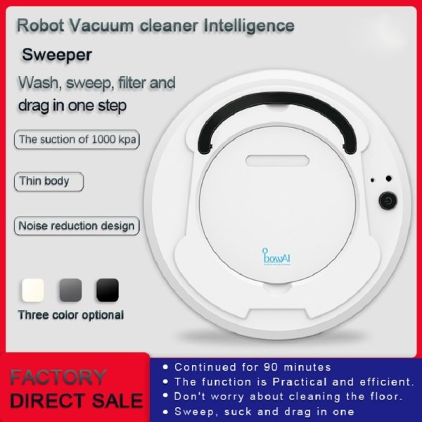 LEARNHAI Christmas Gift OB8 Automatic Rechargeable Strong Suction Sweeping Smart Clean Robot Vacuum Cleaner For Home 2 LEARNHAI Christmas Gift OB8 Automatic Rechargeable Strong Suction Sweeping Smart Clean Robot Vacuum Cleaner For Home Office