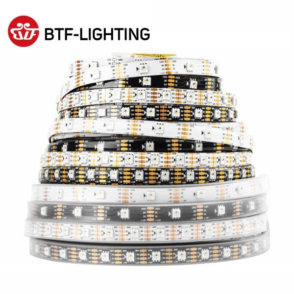 WS2815 DC12V WS2812B WS2813 RGB LED Pixels Strip Light Individually Addressable LED Dual Signal 1m 5m WS2815 DC12V (WS2812B/WS2813) RGB LED Pixels Strip Light Individually Addressable LED Dual-Signal 1m/5m 30/60/144 Pixels/Leds/m
