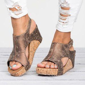 Women Sandals 2019 Platform Sandals Wedges Shoes For Women Heels Sandalias Mujer Summer Shoes Leather Wedge Innrech Market.com