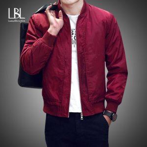 2019 Baseball Jacket Men Spring Autumn Casual Solid Fashion Slim Ma 1 Zipper Bomber Jackets Men Innrech Market.com