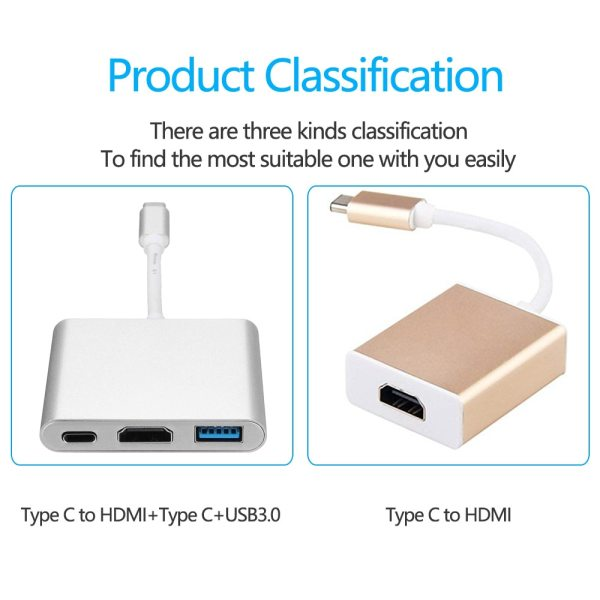 Besiuni USBC 3 1 Converter USB C Type To USB 3 0 HDMI TypeC Female Charger 4 Besiuni USBC 3.1 Converter USB C Type To USB 3.0/HDMI/TypeC Female Charger Adapter for Apple Macbook and Google Chromebook Pixel