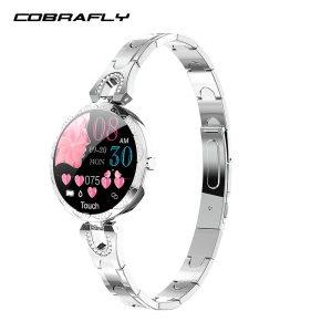 COBRAFLY AK15 Smart Watch Women Bracelet Heart Rate Monitoring IP67 Waterproof Fitness Tracker Ladies Watches for Innrech Market.com