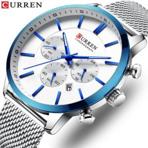 CURREN Watch Men Fashion Business Watches Men s Casual Waterproof Quartz Wristwatch Blue Steel Clock Relogio Innrech Market.com