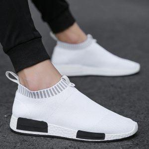 Cork Men Shoes Sneakers Men Breathable Air Mesh Sneakers Slip on Summer Non leather Casual Lightweight Innrech Market.com