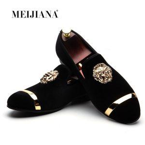 MEIJIANA 2019 New Big Size Men s Loafers Slip on Men Leather Shoes Luxury Casual Fashion Innrech Market.com