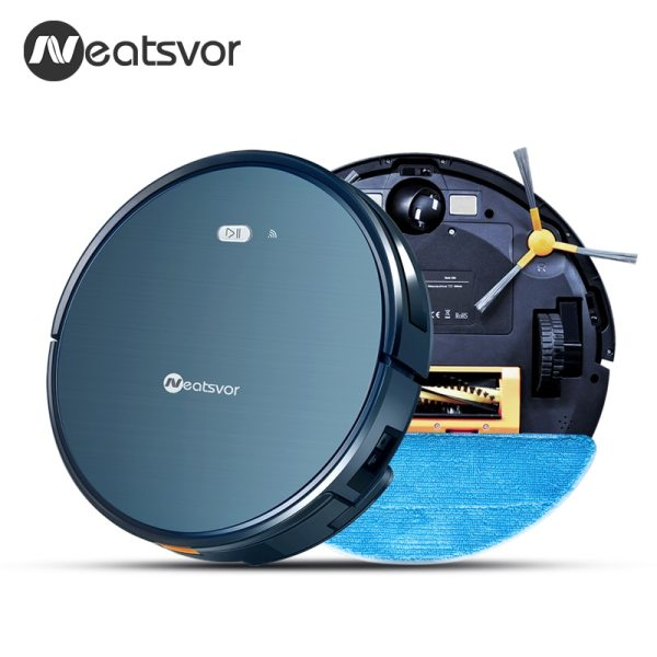 NEATSVOR X500 Robot Vacuum Cleaner 1800PA Poweful Suction 3in1 pet hair home dry wet mopping cleaning 3 NEATSVOR X500 Robot Vacuum Cleaner 1800PA Poweful Suction 3in1 pet hair home dry wet mopping cleaning robot Auto Charge vacuum