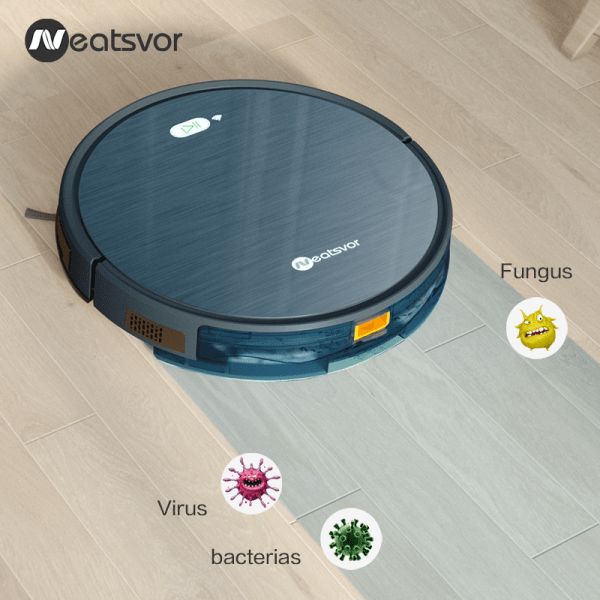 NEATSVOR X500 Robot Vacuum Cleaner 1800PA Poweful Suction 3in1 pet hair home dry wet mopping cleaning NEATSVOR X500 Robot Vacuum Cleaner 1800PA Poweful Suction 3in1 pet hair home dry wet mopping cleaning robot Auto Charge vacuum