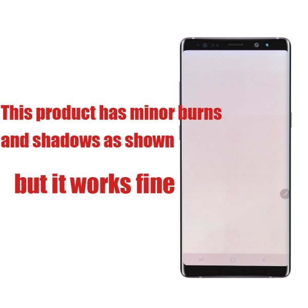 ORIGINAL 6 3 Display with Burn Shadow LCD for SAMSUNG Galaxy Note8 N9500 N950F N900D N900DS 1 ORIGINAL 6.3'' Display with Burn-Shadow LCD for SAMSUNG Galaxy Note8 N9500 N950F N900D N900DS Touch Screen Digitizer with Frame