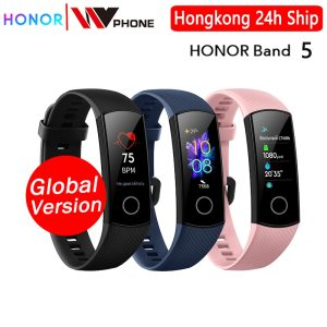 global version Honor band 5 smart band AMOLED heart rate fitness sleep swimming sport blood Innrech Market.com