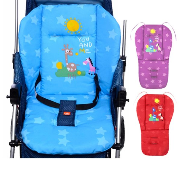 Baby Stroller Mat Red Blue Purple Outdoor Chair Cushions Soft Feeding Chair Seat Pad Blue Baby Baby Stroller Mat Red,Blue,Purple Outdoor Chair Cushions,Soft Feeding Chair Seat Pad,Blue Baby Seat Mat Cushion for Chair Sofa