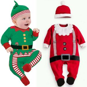 Hot 2017 Unisex Newborn Infant Baby Boys Girl Christmas Xmas Clothes Romper Hat Outfit Costume Toddler Innrech Market.com