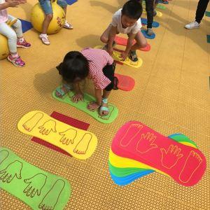 Kids Hand Feet Game Baby Play EVA Foam Floor Mat Crawling Activity Toddler Sensory Toys Sports Innrech Market.com