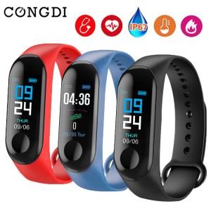 M3 Smart Bracelet Bluetooth Sport Watch Smart Band Blood Pressure Waterproof Heart Rate Fitness Wrist Band Innrech Market.com