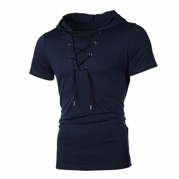 New Men Hoodies Short Sleeve Slim Solid Hip hop Fitness Workout Gym Hooded Tee Muscle Sweatshirts 5 New Men Hoodies Short Sleeve Slim Solid Hip-hop Fitness Workout Gym Hooded Tee Muscle Sweatshirts arrival Summer Casual Top Hot