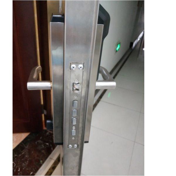 RAYKUBE Biometric Fingerprint Door Lock Intelligent Electronic Lock Fingerprint Verification With Password RFID Unlock R FZ3 4 RAYKUBE Biometric Fingerprint Door Lock Intelligent Electronic Lock Fingerprint Verification With Password & RFID Unlock R-FZ3
