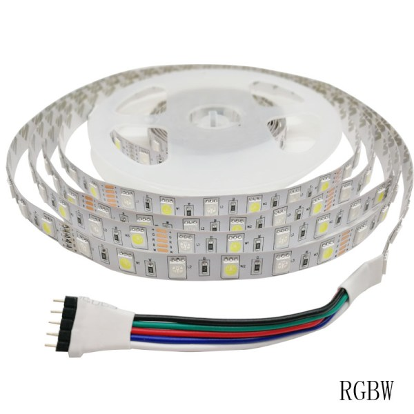 SMD 5050 60leds m 5m 10m RGBW RGBWW RGB LED Strip Lighting LED Tape Diode ribbon 3 SMD 5050 60leds/m 5m 10m RGBW RGBWW RGB LED Strip Lighting LED Tape Diode ribbon Wifi Controller DC 12V Adapter LED Strip Set