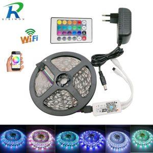 SMD 5050 60leds m 5m 10m RGBW RGBWW RGB LED Strip Lighting LED Tape Diode ribbon Innrech Market.com
