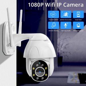 Zclever 1080P PTZ Dome Camera Auto Tracking Wireless Wifi IP Camera Speed Dome Pan Tilt 4 Innrech Market.com