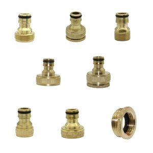1 2 3 4 1 Thread Brass Quick connector Agriculture tools Garden Watering Adapter Durable Joint Innrech Market.com