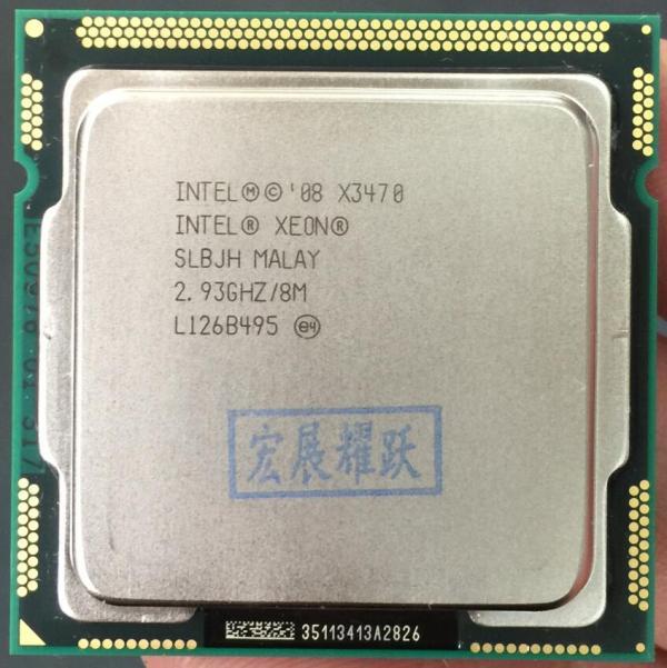 Intel Xeon Processor X3470 Quad Core LGA1156 PC computer CPU 100 working properly Server Processor CPU Intel Xeon Processor X3470 Quad-Core LGA1156 PC computer CPU 100% working properly Server Processor CPU X3470